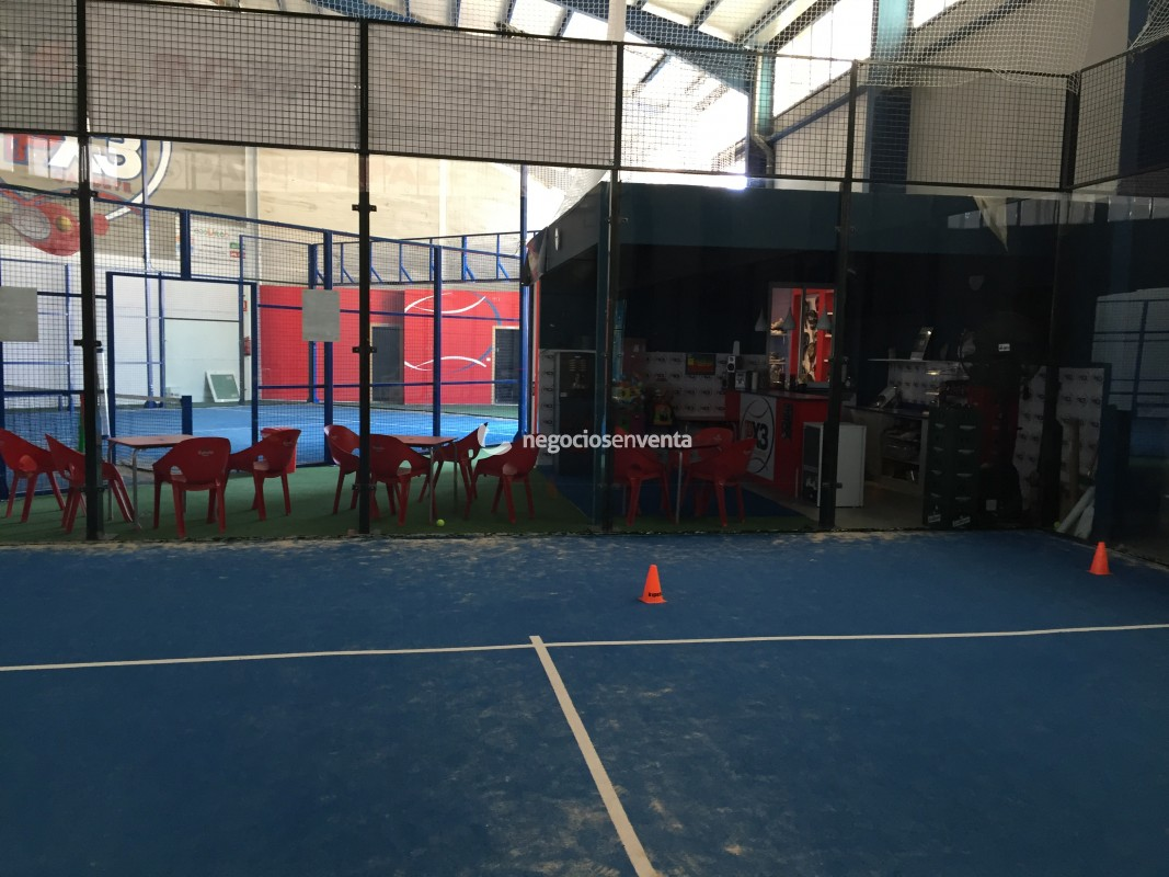 Traspaso club padel indoor