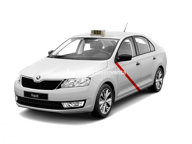 Licencia Skoda rapid madrid Gestion Integral del TAXI